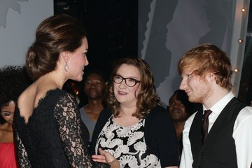 Ed Sheeran Celebs at the Royal Variety Performance