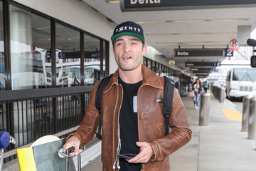 Ed Westwick Ed Westwick Is Seen At LAX