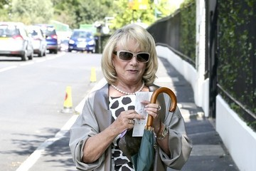 Elaine Paige Elaine Paige Arrives at Wimbledon