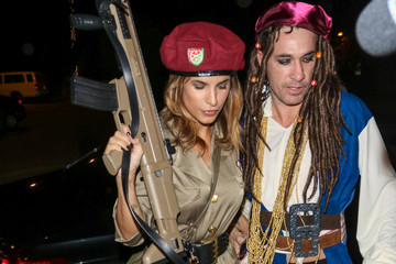 Elisabetta Canalis Celebrities Attend the Casamigos Tequila Halloween Party