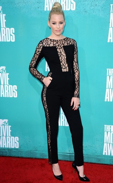 Elizabeth Banks The MTV Movie Awards 2012 - Arrivals.Gibson Amphitheatre, Universal City, CA.