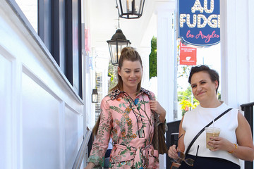 Ellen Pompeo Ellen Pompeo at Au Fudge