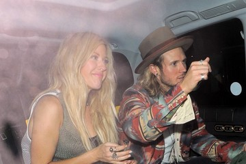 Ellie Goulding Celebs Spotted at Chiltern Firehouse