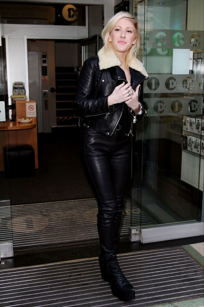 Ellie Goulding Photos Photos Ellie Goulding In Leather