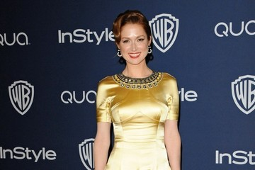 Ellie Kemper  Arrivals at the InStyle/Warner Bros. Golden Globes Party