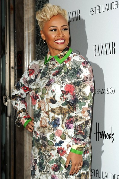 Emeli Sande - Harper's Bazaar Woman Of The Year
