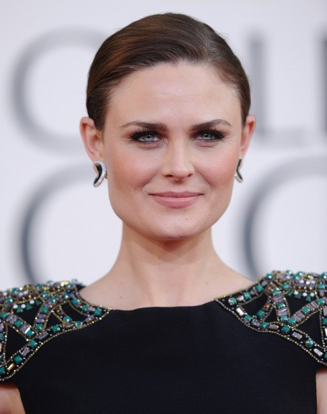 Emily Deschanel - 70th Annual Golden Globe Awards