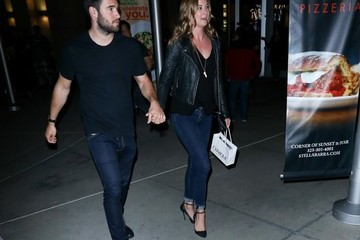 Emily VanCamp Celebrities Visit the Arclight Theater in Hollywood