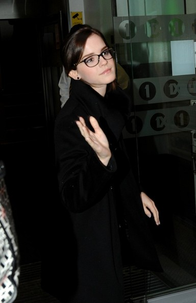 Emma Watson - Emma Watson Makes the Rounds in London 3