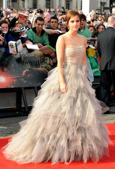Emma Watson Harry Potter And The Deathly Hallows Part 2 Premiere Dress Emma Watson Pho...