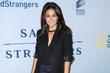 Emmanuelle Chriqui Celebrities Attend the Premiere of 'Saints and Strangers'