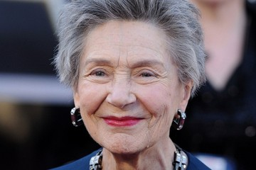 Emmanuelle Riva Arrivals at the 85th Annual Academy Awards