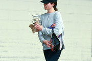 Emmy Rossum is seen in Los Angeles, California.