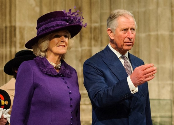 21st March, 2013:  The Prince of Wales and Duchess of Cornwall arrives at Canterbury Cathedral for the Enthronement ceremony of the Archbishop of Canterbury, The Most Reverend Justin Welby.