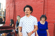 Eric Andre is seen in Los Angeles, California.