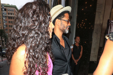 Eric Benet Eric Benet Outside Pantages Theatre In Hollywood