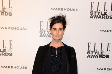 Erin O'Connor Arrivals at the ELLE Style Awards