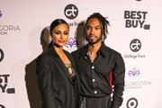Miguel and Nazanin Mandi are seen attending the Eva Longoria Foundation Dinner Gala held at Four Seasons Hotel Los Angeles at Beverly Hills in Los Angeles, California.