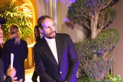 Marco Perego is seen attending the Eva Longoria Foundation Dinner Gala held at Four Seasons Hotel in Los Angeles, California.