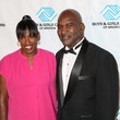 Evander Holyfield Celebrities Arrive Boys and Girls Clubs of America's Annual Great Futures Gala