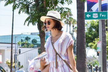 Everly Tatum Jenna Dewan Goes Shopping With Her Daughter