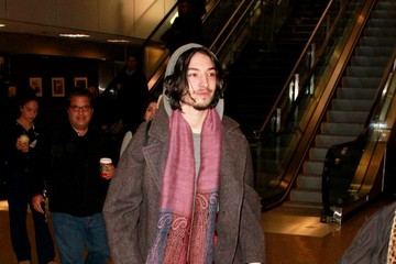Ezra Miller Celebs Spotted at the Salt Lake City Airport