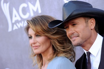 Faith Hill Arrivals at the Academy of Country Music Awards