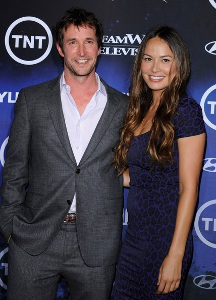 Moon Bloodgood and Noah Wyle