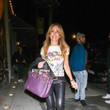 Faye Resnick Faye Resnick Outside Craig's Restaurant In West Hollywood