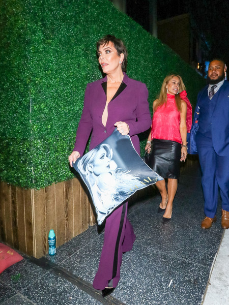 Kris Jenner And Faye Resnick Are Seen Outside Cleo In Hollywood