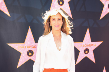 Felicity Huffman Eva Longoria's Hollywood Star Ceremony Post-Luncheon
