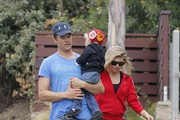 Fergie and Josh Duhamel Enjoy Family Time
