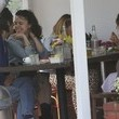 Fred Segal Ron Wood Gets Lunch with His Wife