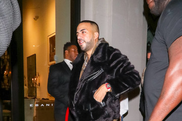 French Montana French Montana Outside Catch Restaurant In West Hollywood