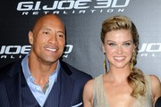 Adrianne Palicki and Dwayne Johnson Photos Photo