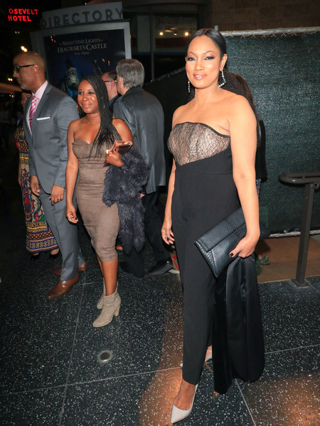 Garcelle Beauvais Outside 'Black Panther' Premiere at Dolby Theatre