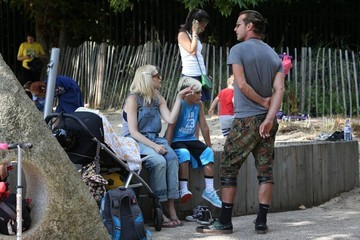 Gavin Rossdale Gwen Stefani's Family Day Out