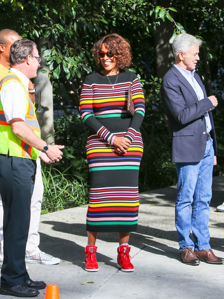 Gayle King At Pre-Oscars Bash In Beverly Hills