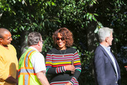 Gayle King is seen in Los Angeles, California on February 23, 2019.
