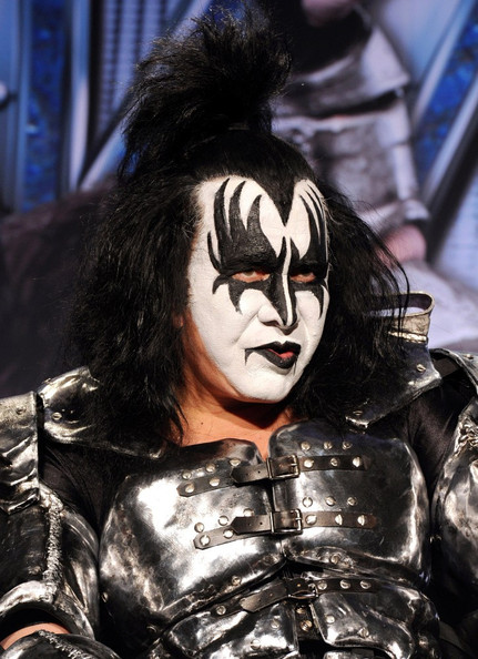 gene simmons pictures kiss motley crue co headlining tour zimbio. Black Bedroom Furniture Sets. Home Design Ideas