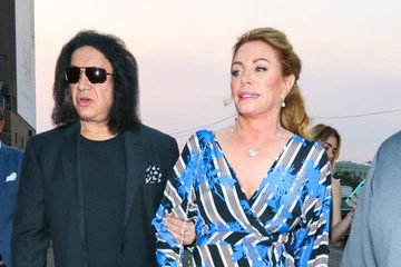 Gene Simmons Gene Simmons And Shannon Tweed Are Seen Outside Avalon