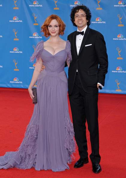 Geoffrey Arend and Christina Hendrix 62nd Annual Primetime Emmy Awards