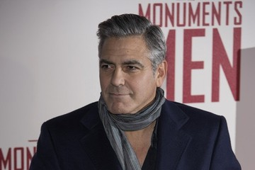 George Clooney 'The Monuments Men' Premieres in London — Part 2