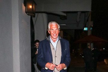 George Hamilton George Hamilton Is Seen Outside Craig's Restaurant In West Hollywood