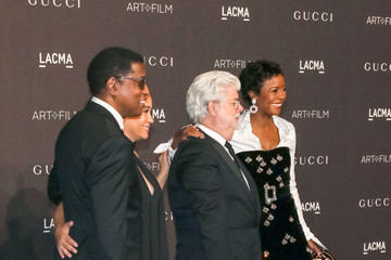 George Lucas 2018 LACMA Art Film Gala Honoring Catherine Opie And Guillermo Del Toro Presented By Gucci