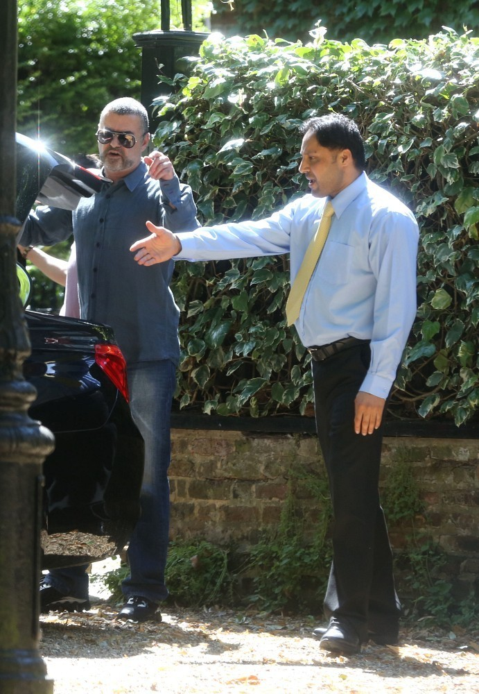 george michael and fadi fawaz out and about zimbio