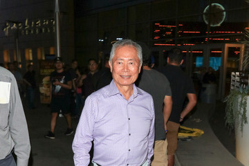 George Takei George Takei Outside The ArcLight Theatre In Hollywood