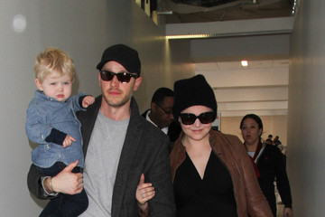 Ginnifer Goodwin Ginnifer Goodwin and Josh Dallas Are Seen at LAX