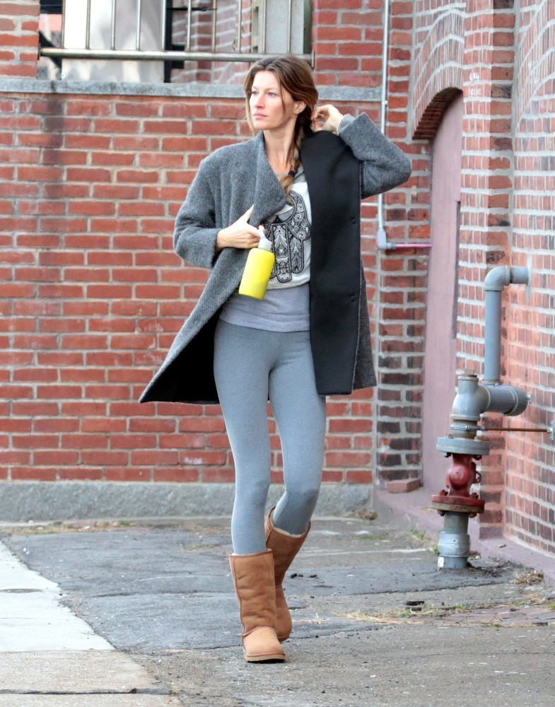 Gisele Bundchen Out in Boston