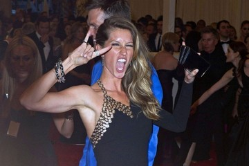 Gisele Bundchen Arrivals at the Met Gala in NYC